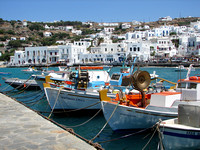 Mykonos Fishing Boats